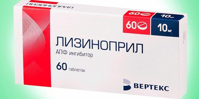 Ингибитор АПФ Лизиноприл