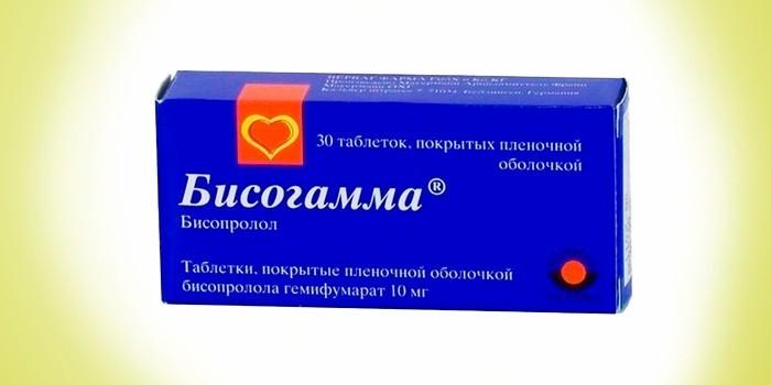 Лекарство Бисогамма