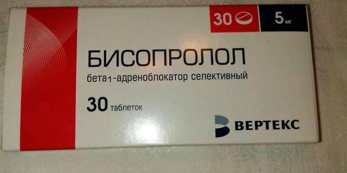 Чем можно заменить бисопролол при тахикардии