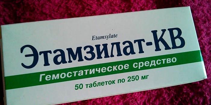 Гемостатическое средство Этамзилат-КВ