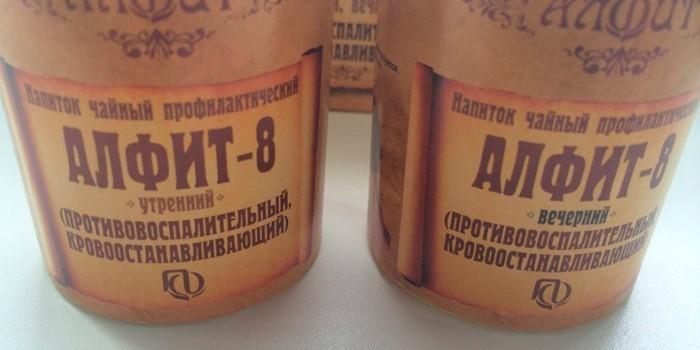 Напиток Алфит-8