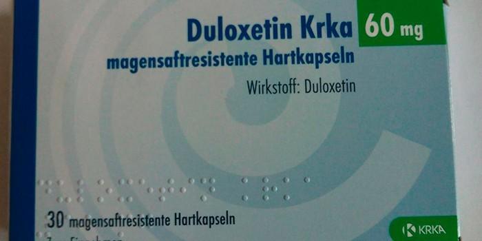 Препарат Дулоксетин