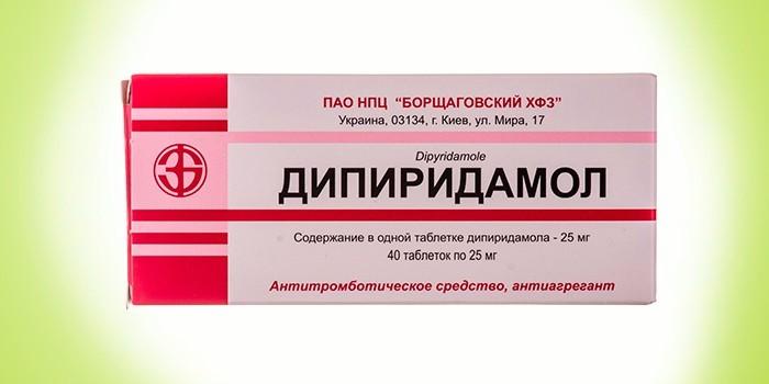 Антитромботическое средство Дипиридамол