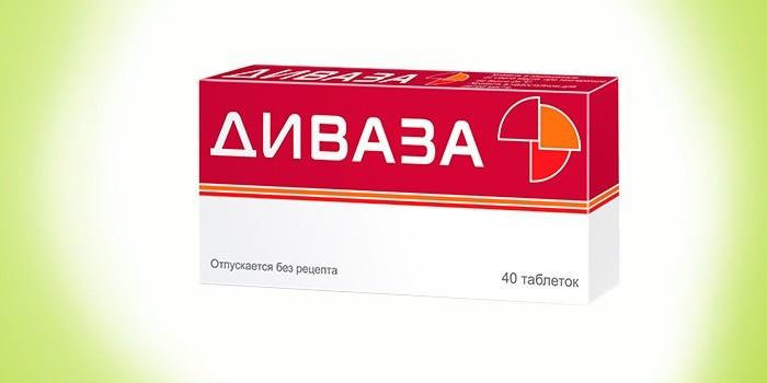 Антитромботическое средство Диваза