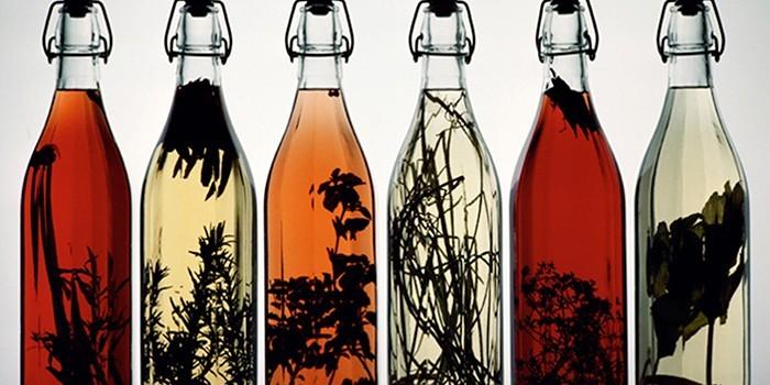 Лекарственные настойки в бутылках