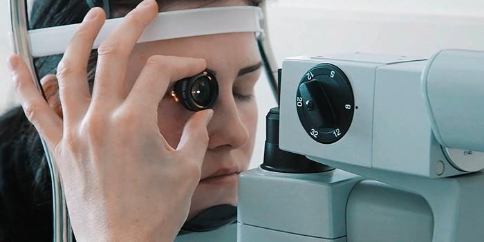Операция по лазерной коагуляции зрения лазером