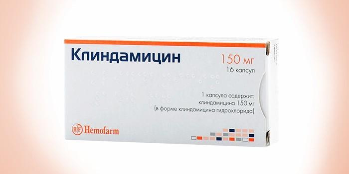 Капсула Клиндамицин