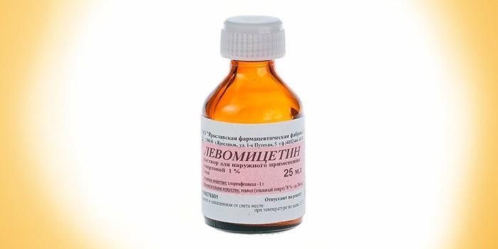 Раствор Левомицетин