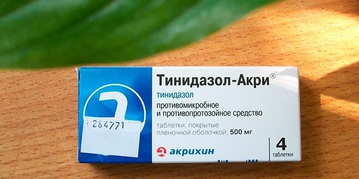 Антибиотик Тинидазол