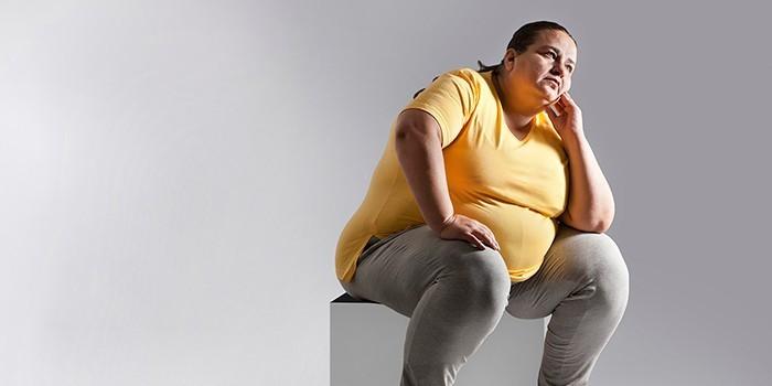 Женщина с избыточным весом