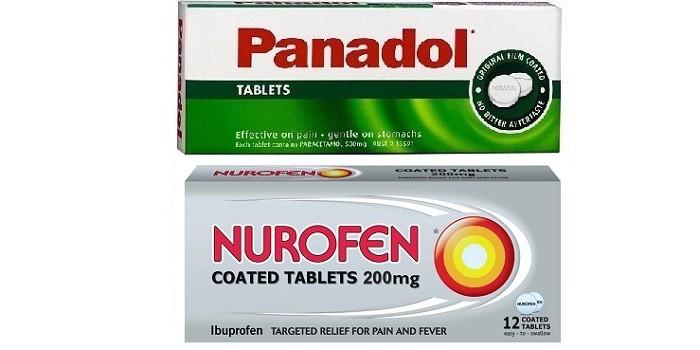Нурофен и Панадол