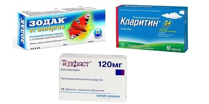 Устраняют симптомы аллергии на холод