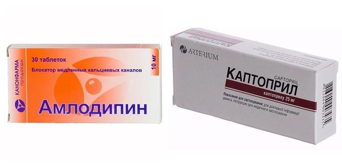 Амлодипин и Каптоприл