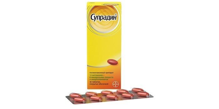 Витамины Супрадин