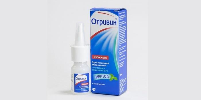 Капли Отривин