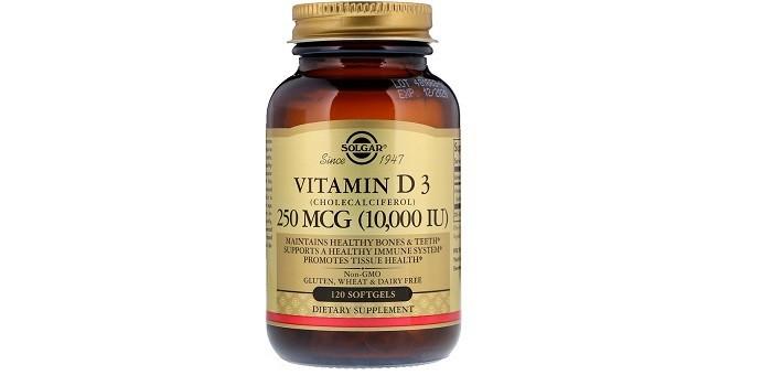 Vitamin D3 от Solgar