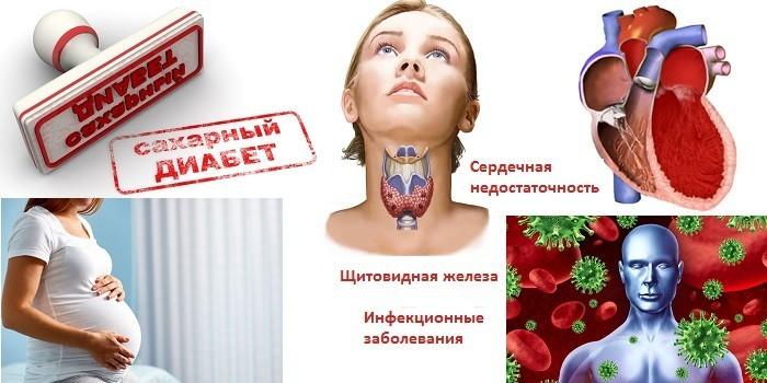 Запрещающие процедуру заболевания