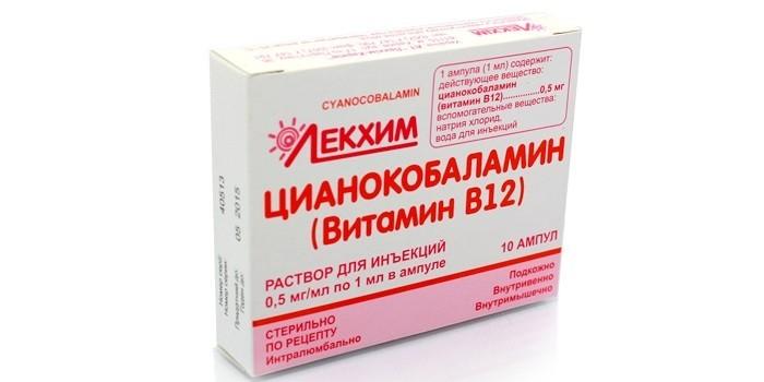 Препарат Цианокобаламин
