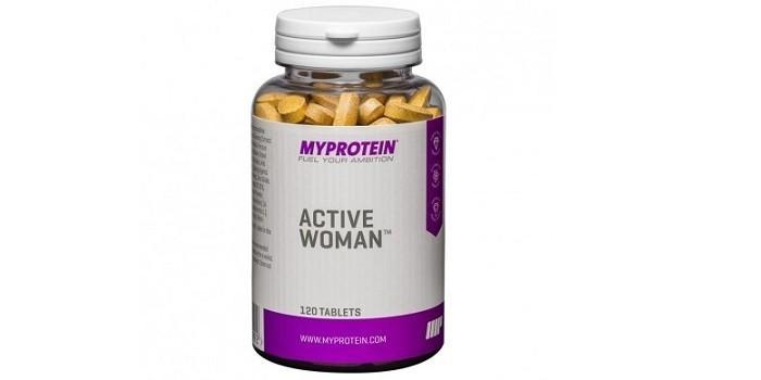 БАД Active woman от Myprotein