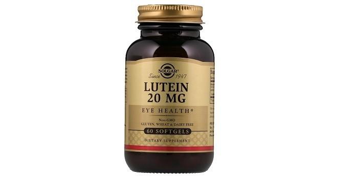 Лютеин 20 мг от Солгар