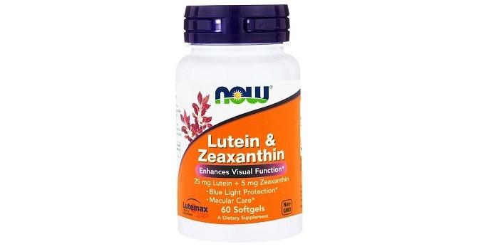 Lutein & Zeaxanthin от NOW