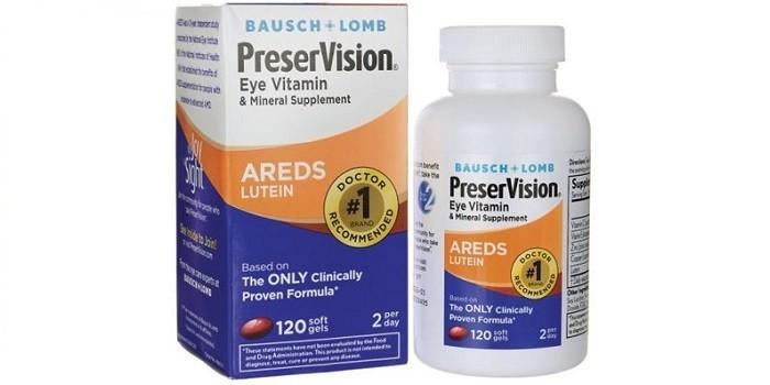 Витамины для глаз AREDS