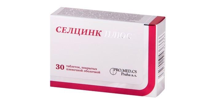 Препарат Селцинк Плюс