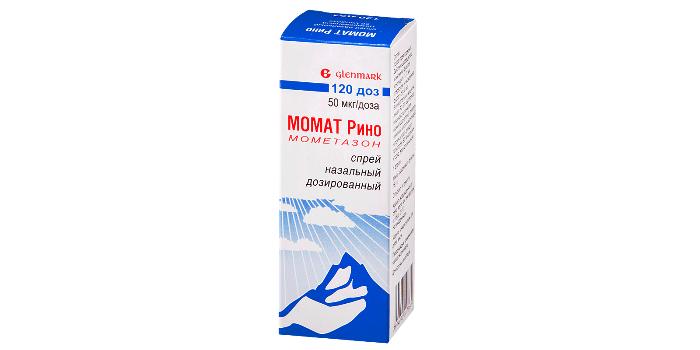 Глюкокортикоид Момат Рино