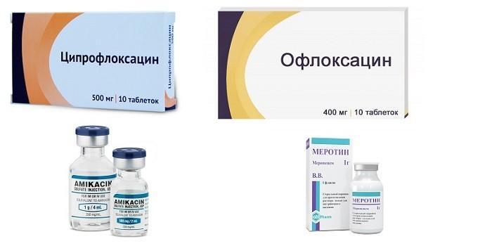 Антибиотики для лечения заболевания