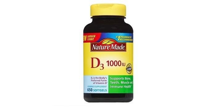 Nature Made, витамин D3