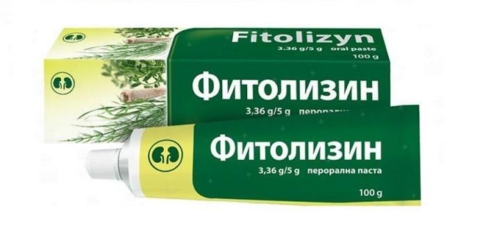 Оральная паста Фитолизин
