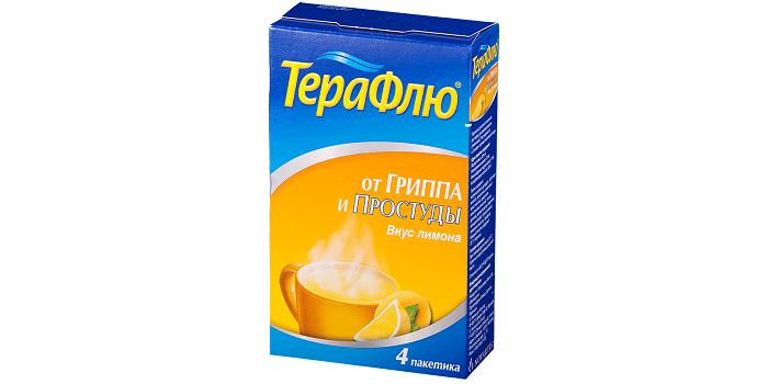 Препарат от гриппа и простуды ТераФлю