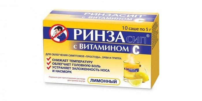 Ринзасип с витамином С в саше