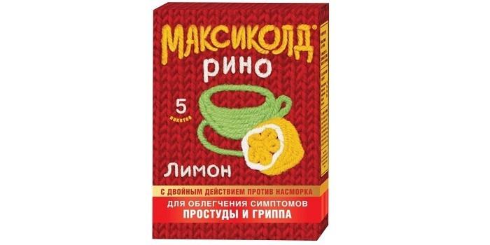 Максиколд Рино для облегчения симптомов гриппа и простуды