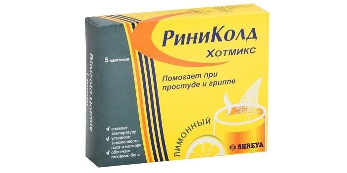 Лимонный Риниколд ХотМикс