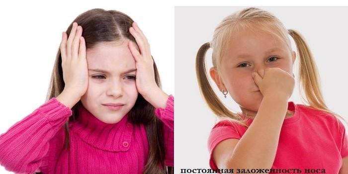 Головные боли и заложенность носа