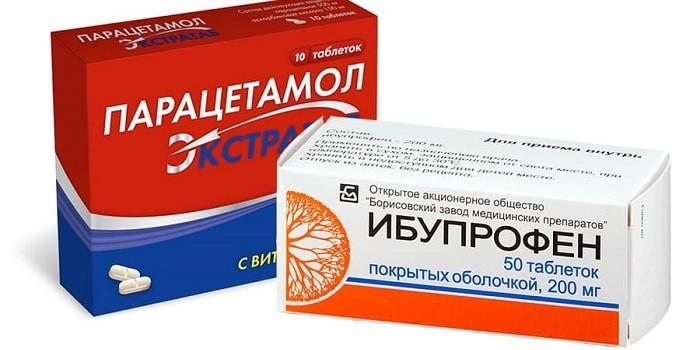 Парацетамол, Ибупрофен