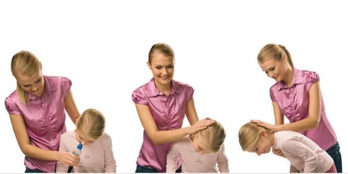 Как правильно промывать нос ребенку