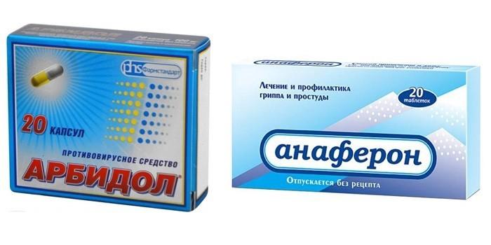Анаферон, Арбидол