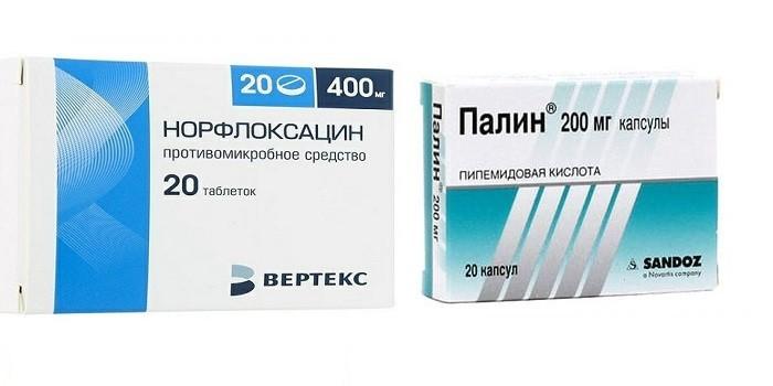 Препараты фторхинолы