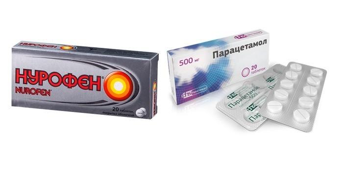 Нурофен и Парацетамол
