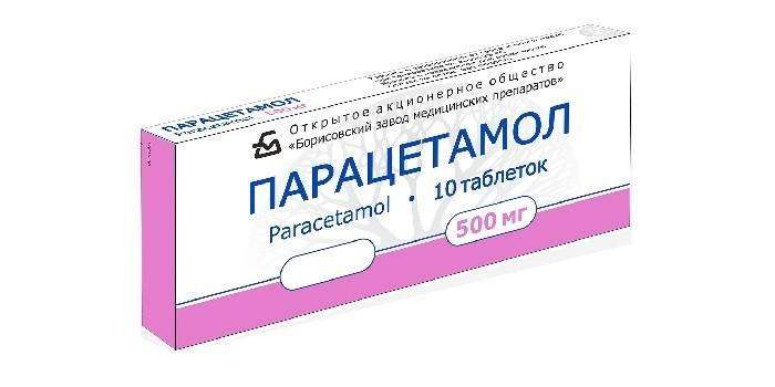 Жаропонижающее средство Парацетамол