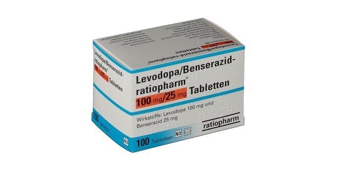Лекарственное средство Леводопа