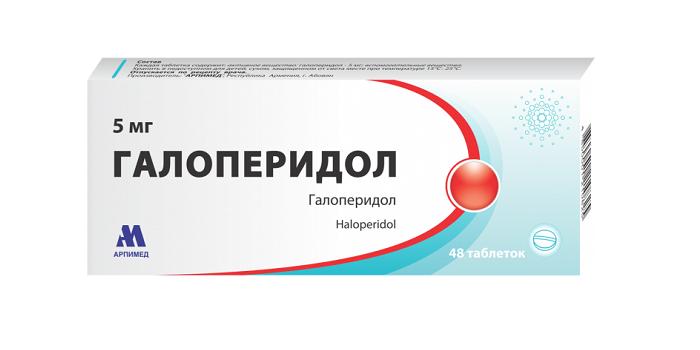 Таблетки Галоперидол