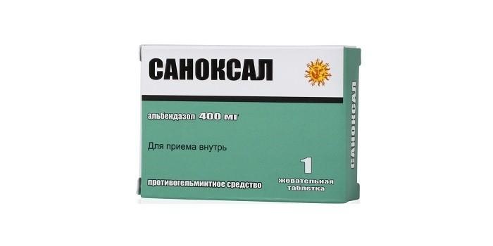 Противовоспалительное средство Саноксал