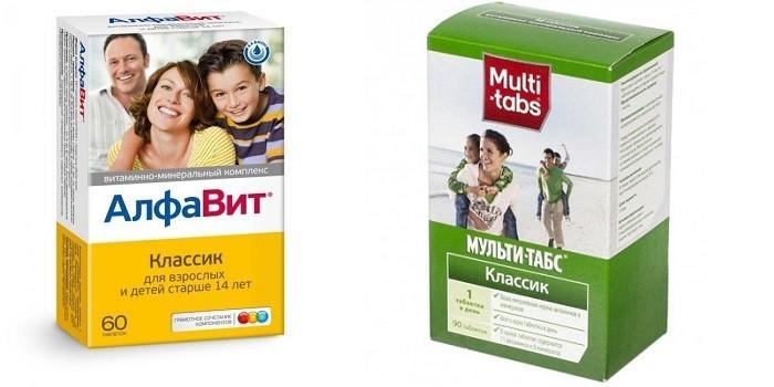 Комплексы витаминов для всей семьи