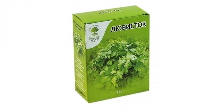 Трава Любисток