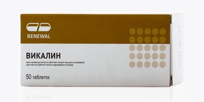 Препарат Викалин
