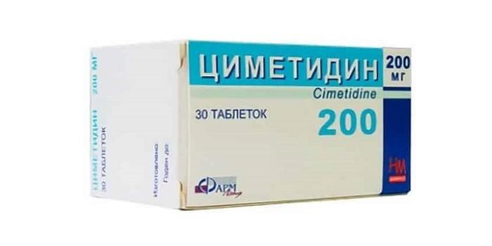 Таблетки Циметидин