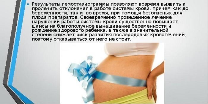 Гемостазиограмма при беременности